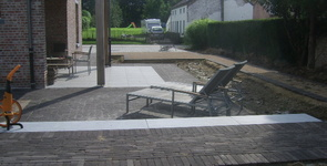 Houten terrassen